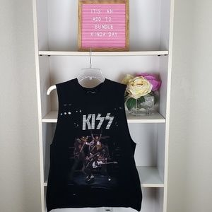KISS Graphic Band Tank Top SZM